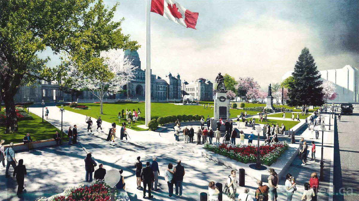 Province to undertake public realm and security upgrades to Parliament Buildings lawn