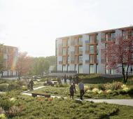 300-units of affordable seniors and workforce rentals planned for West Saanich Road at Keating Cross Road in Central Saanich