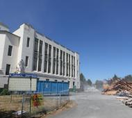 Demolition of St. Andrew's Elementary begins; 195-unit rental project to start this fall