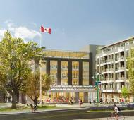 Work gets underway on Esquimalt's residential and commercial Town Square dev