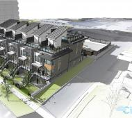 Townhome and studio apartment rentals proposed for James Bay's Michigan Street