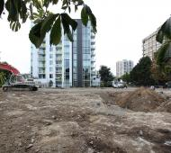 Cox Developments starts excavation for rental tower, receives support for nearby condo towers