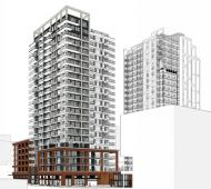 23-storey residential tower unveiled as final phase of downtown Victoria's Hudson District