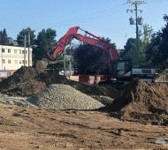 Excavation begins for waterfront Westbay Quay condominium dev on the Inner Harbour