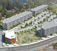 Multi-acre mixed-use project moves forward on Sooke Road at Happy Valley Road in Langford