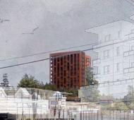 Colwood approves 15-storey, mass timber-designed affordable housing replacement for Colwood Lodge