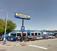 Nearly 275-unit rental development pitched for downtown Victoria's Fountain Tire auto shop, adjacent properties